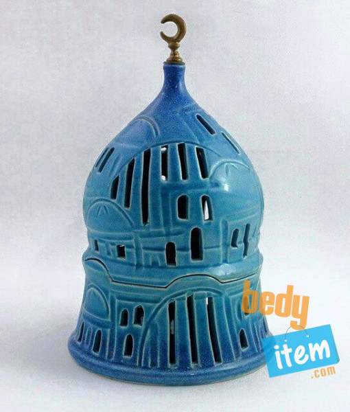 Mosque Candle Holder1