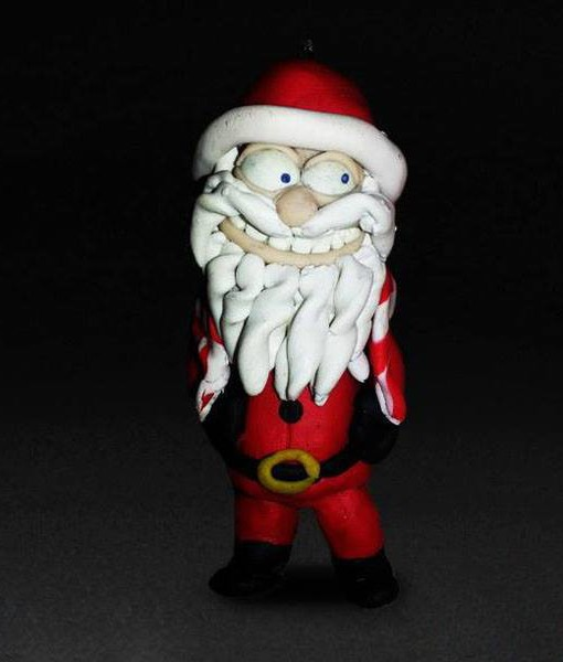 Baba noel Key chain