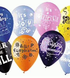 CUSTOMIZED BALLOONS